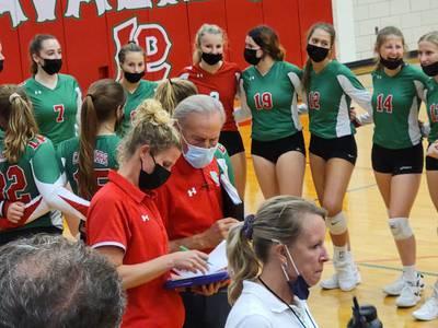 L-P volleyball dominates Plano on senior night