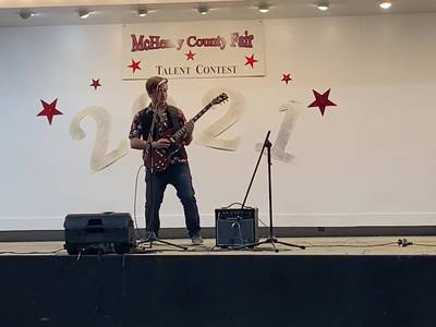 Cary 15-year-old performs at McHenry County Talent Show