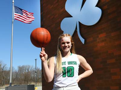 The Times 2020-21 Girls Basketball Player of the Year: Seneca's Brooklyn Giertz, the ultimate leader of the pack
