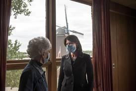 Photos: Congresswoman Bustos tours Fulton building