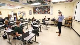 Seneca High School students ask U.S. Rep. Adam Kinzinger his guns stance