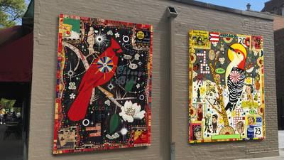 Murals by Tony Fitzpatrick to grace Glen Ellyn