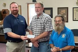 Sandwich Sportsman's Club donates to Tri County Kiwanis