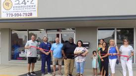 24/7 Embroidery and Screen Printing moves to new location in Crystal Lake