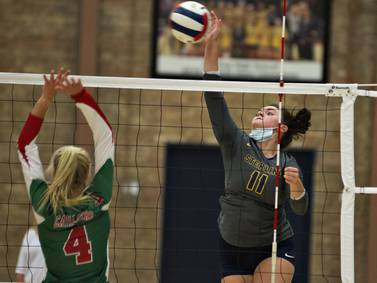 Photos: Sterling vs L/P volleyball