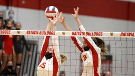 Girls Volleyball notes: 'This is why we play' Batavia basks in beating St. Francis for first time ever