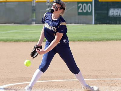 Softball: Marquette Academy falls, 1-0, in Class 1A Supersectional