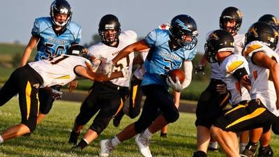 Leaders in rushing, passing and receiving after Week 1 from the Sauk Valley