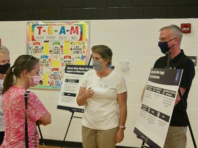 Oswego, Montgomery, Yorkville officials tout community unity at new water source open house