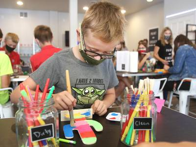 Photos: New DeKalb business, Paint -n- Create, offers artistic outlet
