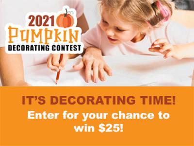 2021 Pumpkin Decorating Contest