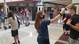 Marengo High School District 154 pushing students to mask up