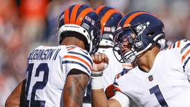 Allen Robinson, Justin Fields continue to build chemistry together