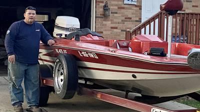 Denny Boyles, LaMoille High School hooked on bass fishing