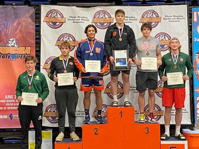 Wrestling: L-P's Connor Lorden earns fifth at IWCOA 2A State Finals
