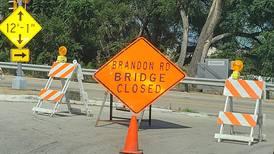 Brandon Road bridge out of action again