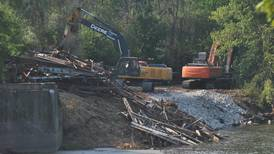 Kendall  County officials still in talks with construction firm over Millbrook Bridge demolition