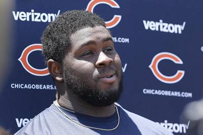 Bears injury report: Goldman misses practice again, ruled 'doubtful' for Sunday's game