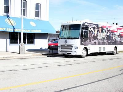 Hines VA Outreach Team coming to Morris