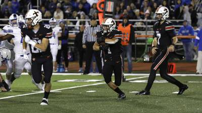 Cody Cotteleer, St. Charles East 'D' rise to the occasion in crosstown win