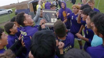 Regional Rally: Serena soccer leads first, but unbeaten Mendota brings home regional championship