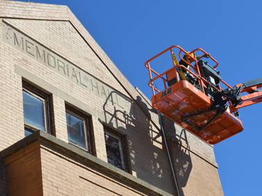 Memorial Hall renovation proceeds in Richmond as new owner aims for spring opening