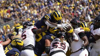 Hammock, Deveaux chalk up defensive woes to competition level after 63-10 loss at Michigan
