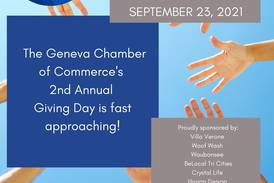 Geneva Chamber Challenge to raise funds for local nonprofits in 24-hour online giving opportunity Thursday