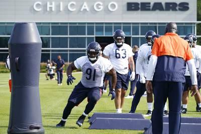 Bears injury report: Eddie Goldman misses practice Thursday