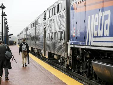 Metra to offer special Saturday schedule on line in Joliet, Lockport and Romeoville