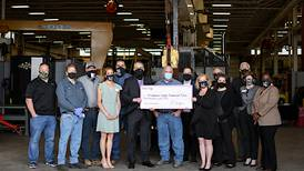Enbridge donates crane truck, welding equipment to Kishwaukee College