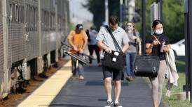 Metra riders slowly returning to their commutes