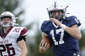 McHenry County prep football notes: Cary-Grove's Jameson Sheehan doing it all to lead Trojans' offense