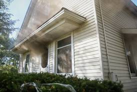 Dogs rescued and no injuries in Woodstock area house fire, but structure uninhabitable