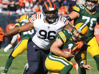 Photos: Bears fall to Packers at Soldier Field in Chicago