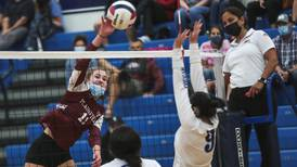 Plainfield North tops Plainfield South, stays unbeaten in Southwest Prairie Conference volleyball