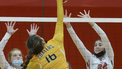 Volleyball: Streator falls to ICE foe Coal City in 2 at The Pops