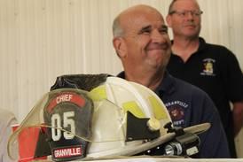 Granville Fire Chief celebrated for three decades of service