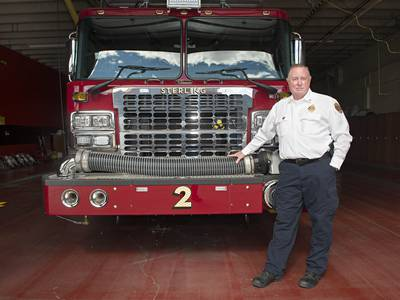 Training is Sterling fire chief's mantra