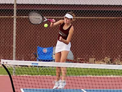 Morris girls tennis falls to Ottawa