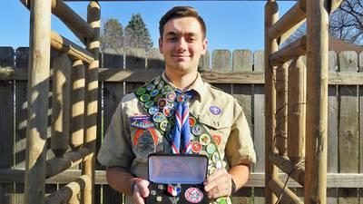 Hove earns Eagle rank
