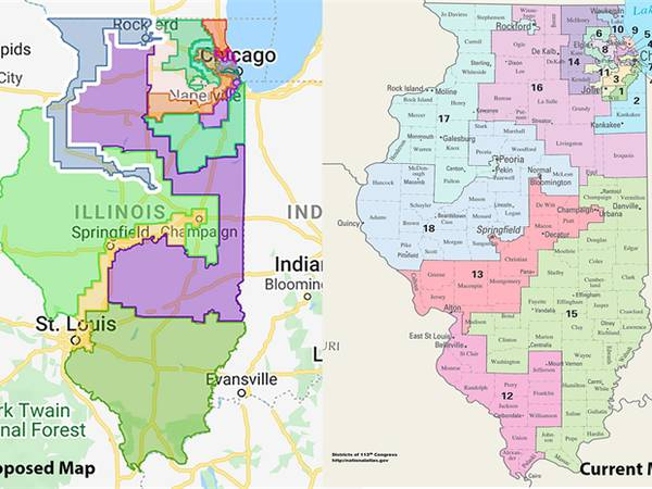 Our View: Proposed Illinois congressional map is embarrassing