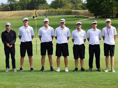 Hall places third in TRAC boys golf meet