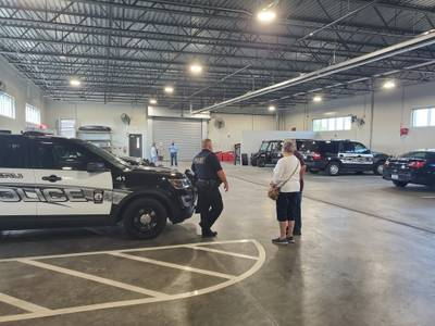 Photos: Peru Police Department hosts an open house of the new Public Safety Complex