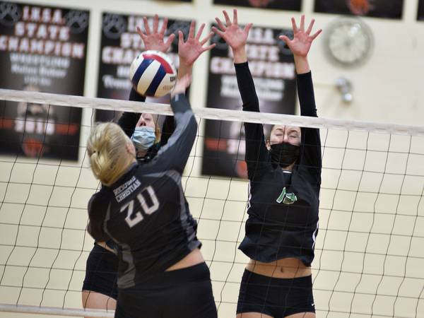 Volleyball: Rock Falls rolls into regional final with win over Rockford Christian