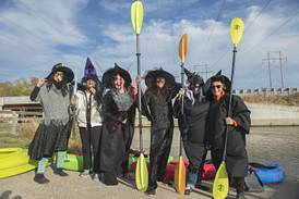 Photos: Witching float on the Hennepin Canal