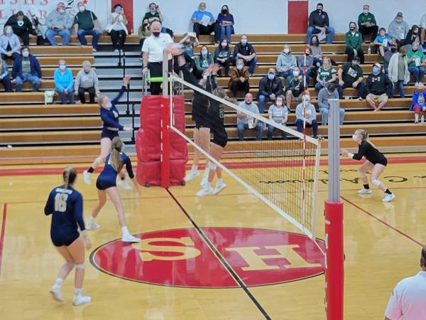Henry-Senachwine 1A Volleyball Regional: St. Bede eliminates Marquette; Putnam County tops hosts