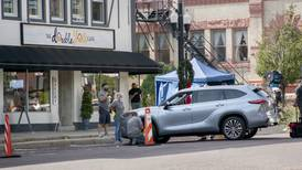 Shots for Toyota commercial, 'Lightyears' filmed in Woodstock Square