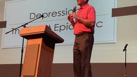 'Without his speech, I probably would not be alive today' Former coach speaks at mental health awareness event at St. Charles East