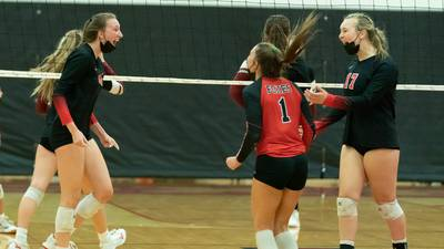 Photos: Yorkville vs. Plainfield North volleyball